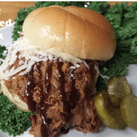 Barbeque Pulled Pork (Wednesday)